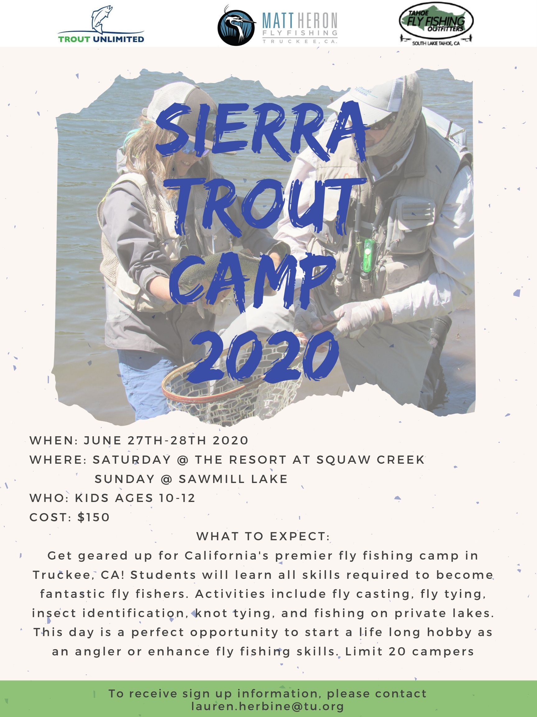 Sierra Trout Camp