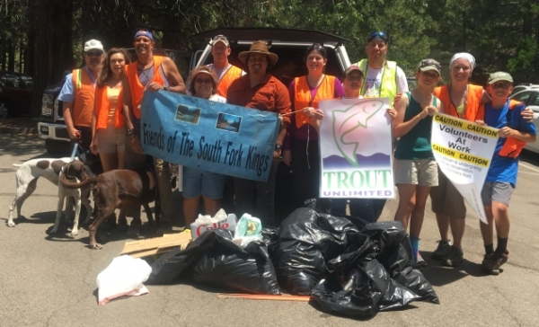 South Fork Kings River Cleanup