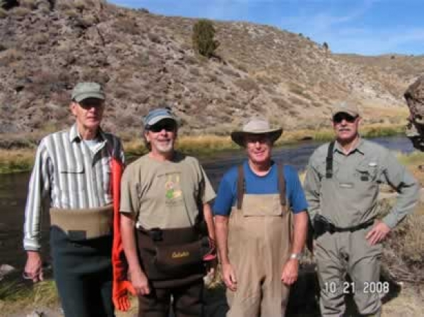 Hot Creek Fish Count October 21-23
