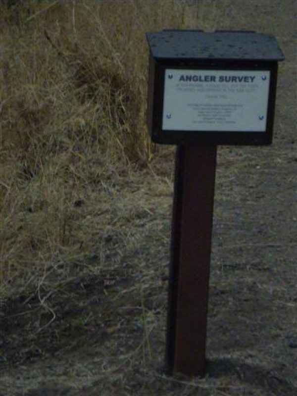 Angler Survey Boxes